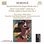 DURUFLE: Messe Cum Jubilo /  Organ Suite, Op. 5