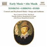 TOMKINS /  GIBBONS / BYRD: Consort and Keyboard Music