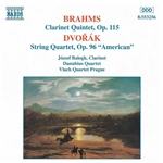 BRAHMS: Clarinet Quintet  in B minor /  DVORAK: String Quartet No. 12,