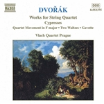 DVORAK: Cypresses /  String Quartet Movement in F Major