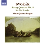DVORAK, A.: String Quartets, Vol. 8 (Vlach Quartet) - No. 3