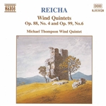 REICHA: Wind Quintets, Op. 88, No. 4 and  Op. 99, No. 6