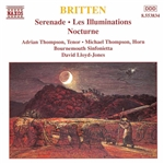 BRITTEN: Serenade for Tenor /  Les Illuminations / Nocturne