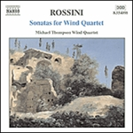 ROSSINI: Sonatas for Wind Quartet Nos. 1-6