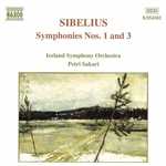 SIBELIUS: Symphonies Nos. 1 and 3
