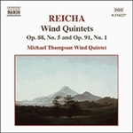 REICHA: Wind Quintets, Op. 88, No. 5 and Op. 91, No. 1