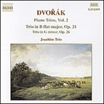 DVORAK: Piano Trio No. 1, Op. 21 /  Piano Trio No. 2, Op. 26