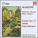 MARTINU: Works for Cello and Piano, Vol.  1