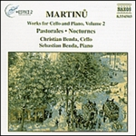 MARTINU: Works for Cello and Piano, Vol.  2