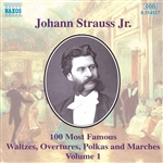 STRAUSS II, J.: 100 Most Famous Works, Vol.  1