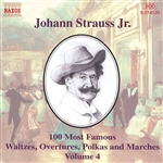 STRAUSS II, J.: 100 Most Famous Works, Vol.  4