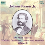 STRAUSS II, J.: 100 Most Famous Works, Vol.  8
