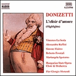 DONIZETTI: Elisir d'amore (L') (Highlights)