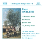 QUILTER: Songs (English Song, Vol. 5)