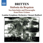 BRITTEN: Sinfonia da Requiem /  Gloriana Suite / Sea Interludes