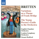 BRITTEN: Young Person's Guide to the Orchestra (The) /  Variations on a Theme of Frank Bridge