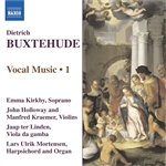 BUXTEHUDE: Vocal Music, Vol.  1