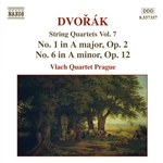 DVORAK: String Quartets No. 1, Op. 2 and No. 6, Op. 12