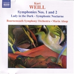 WEILL: Symphonies Nos. 1 and 2 /  Lady in the Dark - Symphonic Nocturne