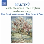 MARTINU: Songs for mezzo-soprano and piano