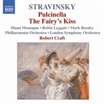 STRAVINSKY: Pulcinella /  Le baiser de la fee (The Fairy's Kiss) (Stravinsky, Vol. 5)