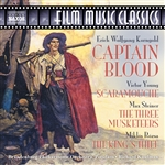 KORNGOLD: Captain Blood /  STEINER: The Three Musketeers / YOUNG: Scaramouche