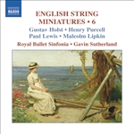 ENGLISH STRING MINIATURES, Vol. 6