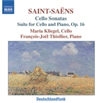 SAINT-SAENS: Cello Sonatas Nos. 1 and 2 /  Cello Suite
