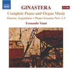 GINASTERA: Complete Piano and Organ Music