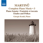 MARTINU: Piano Music (Complete), Vol. 3