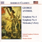 ANTHEIL: Symphonies Nos. 4 and 6 /  McKonkey's Ferry