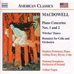 MACDOWELL: Piano Concertos Nos. 1 and 2 /  Witches' Dance