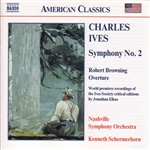IVES: Symphony No. 2 /  Robert Browning Overture