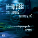 GLASS, P.: Symphonies Nos. 2 and 3