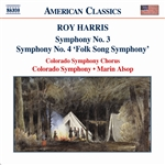 HARRIS: Symphonies Nos. 3 and 4