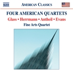 EVANS, R.: String Quartet No. 1 /  GLASS, P.: String Quartet No. 2 / ANTHEIL, G.: String Quartet No. 3 / HERRMANN, B.: Echoes