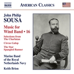 Sousa: Music for Wind Band, Vol. 16