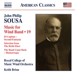 Sousa: Music for Wind Band, Vol. 19