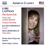 Opperman, Laitman & Rosenblum: Works for Voice & Clarinet