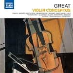 GREAT VIOLIN CONCERTOS (10-CD Box Set)