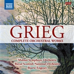 GRIEG, E.: Orchestral Works (Complete) (Engeset) (8-CD Boxed Set)