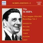 SCHIPA, Tito: Complete Victor Recordings (The), Vol. 2 (1924-1925)