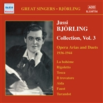 BJORLING, Jussi: Opera Arias and Duets (1936-1944)