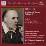 DELIUS: Orchestral Works, Vol.  2  (Beecham) (1927-1936)