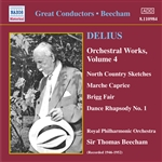 DELIUS: Orchestral Works, Vol. 4 (Beecham) (1946-1952)