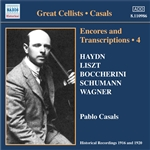CASALS, Pablo: Encores and Transcriptions, Vol. 4: Complete Acoustic Recordings, Part 2 (1916-1920)