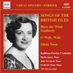 FERRIER, Kathleen: Songs of the British Isles (1949-1952)