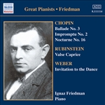 FRIEDMAN, Ignaz: Complete Recordings, Vol. 5: English Columbia Recordings (1933-1936)