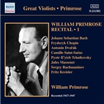 PRIMROSE, William: Recital, Vol. 1 (1939-47)