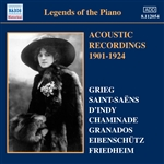 LEGENDS OF THE PIANO - Acoustic Recordings 1901-1924